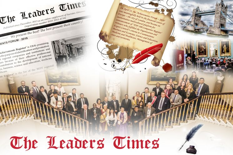 New issue of 'The Leaders Times' dedicated to the 'Achievements Forum - 2019' is already ONLINE!